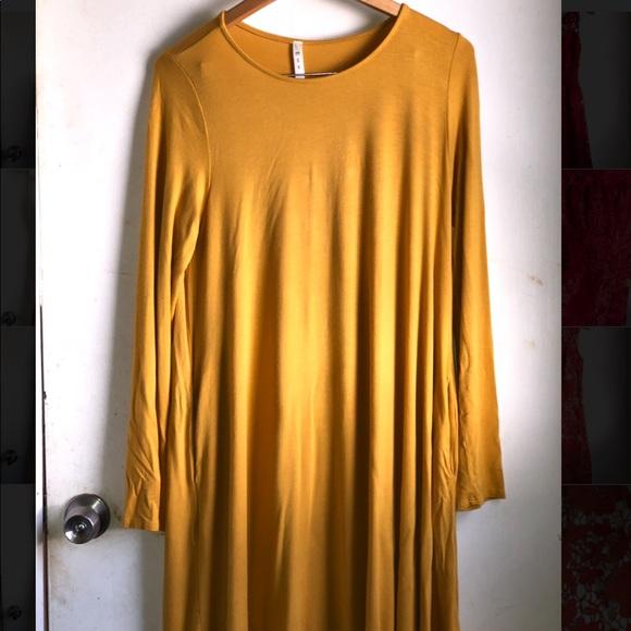 4e8faf771f313a Altar'd State Dresses | Gorgeous Mustard Yellow Dress | Poshmark